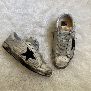 Golden Goose Mesh Sneakers